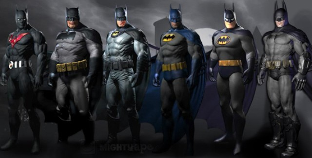Batman: Arkham City Skins Downloadable Content Costumes Screenshot