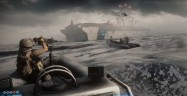 Battlefield 3 Boat Gameplay Atop Water
