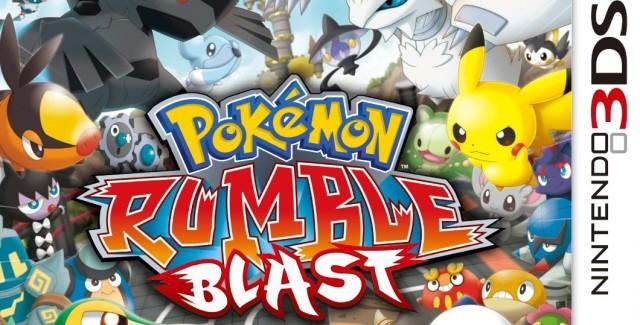 Pokemon Rumble Blast Walkthrough Box Art