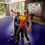 Self Defense Training Camp Screenshot - Chop to the Gut!