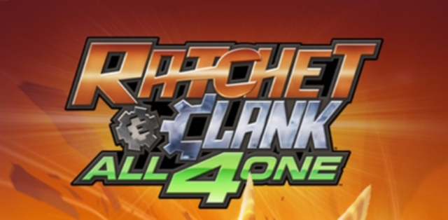 Ratchet and Clank: All 4 One Review Artwork