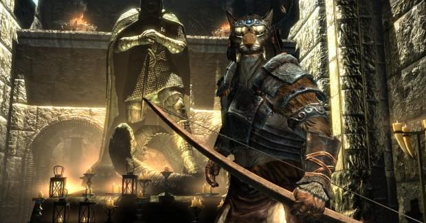 The Elder Scrolls V: Skyrim Khajjit Screenshot