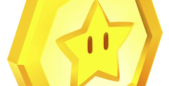 Super Mario 3D Land Star Coins