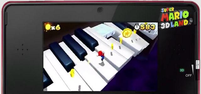 Super Mario 3D Land Star Coins Screenshot
