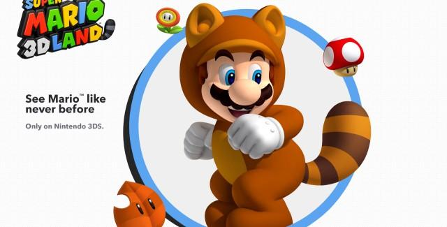 Super Mario 3D Land Tanooki Mario Art