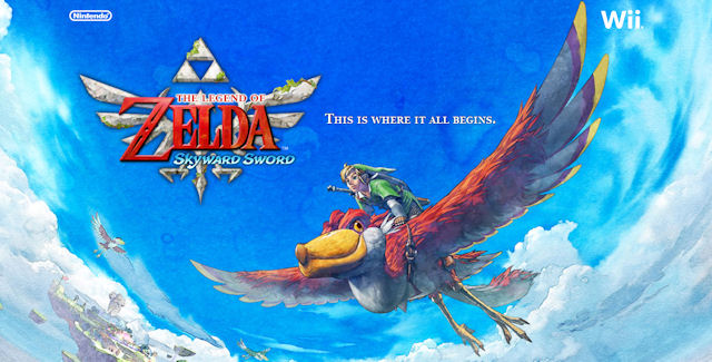 The Legend of Zelda: Skyward Sword walkthrough artwork