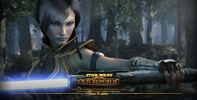 Star Wars: The Old Republic Walkthrough Art