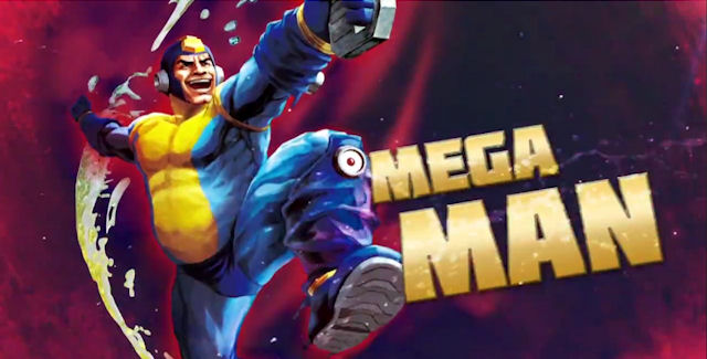 Old Mega Man in Street Fighter x Tekken