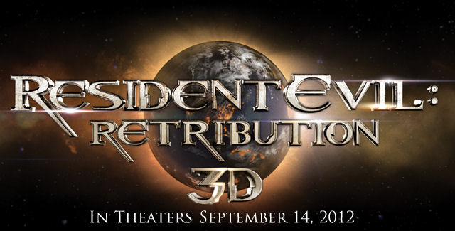 Resident Evil Retribution movie logo