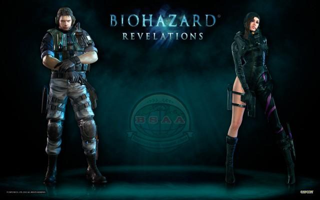Resident Evil Revelations Jessica - Chris Wallpaper