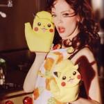Pokemon fangirl Rose McGowan