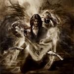 The Darkness 2 Jackie Estacado Kneeling Wallpaper