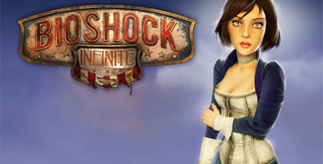 BioShock Infinite logo with Elizabeth