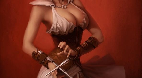 Female Assassin Artwork Assassin's Creed