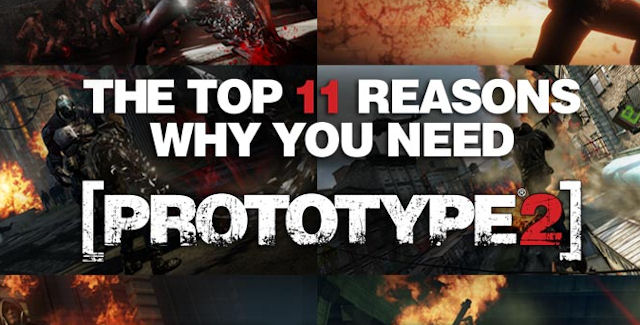 Prototype 2 Top 11 Reasons It's Awesome