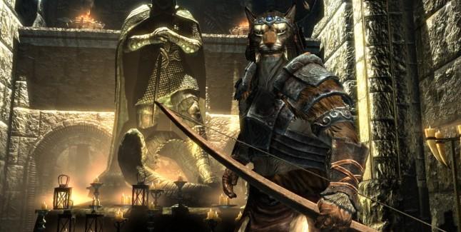 The Elder Scrolls V Skyrim Khajiit Screenshot