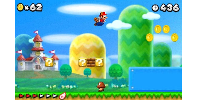 New Super Mario Bros 2 Screenshot
