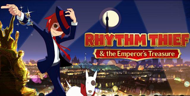 Rhythm Thief & the Emperor's Treasure Walkthrough Cover