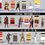 Sega x Capcom x Namco Bandai Characters Lineup