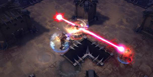 Diablo 3 Player VS Player Screenshot