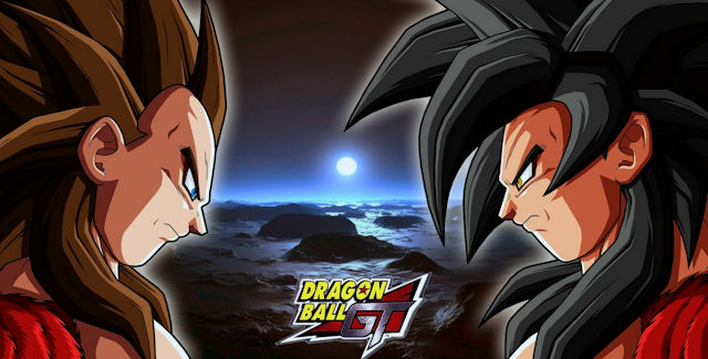 Dragon Ball GT Super Saiyan 4 Vegeta & Goku in Dragon Ball Z: Budokai Tenkaichi 4