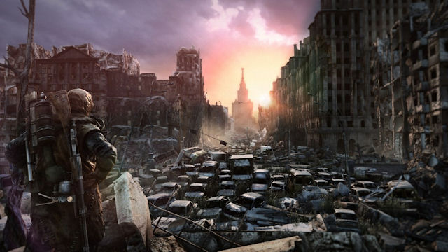 Metro: Last Light a look outside artwork