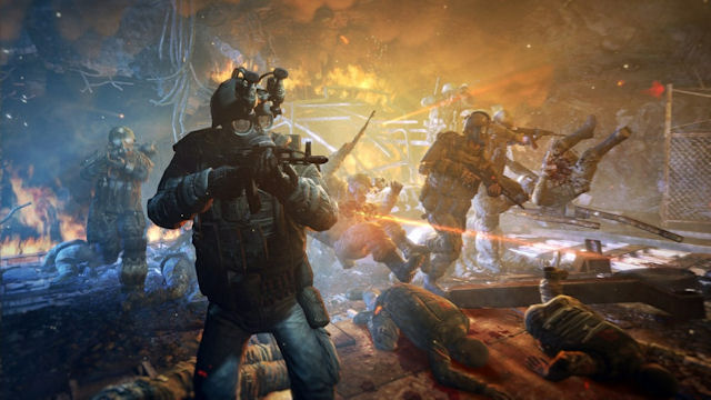 Metro: Last Light underground battle artwork