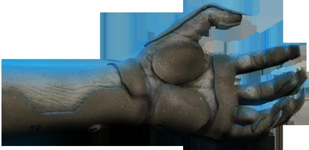 Raiden's Lost Arm