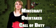 Minecraft Overtakes Call of Duty