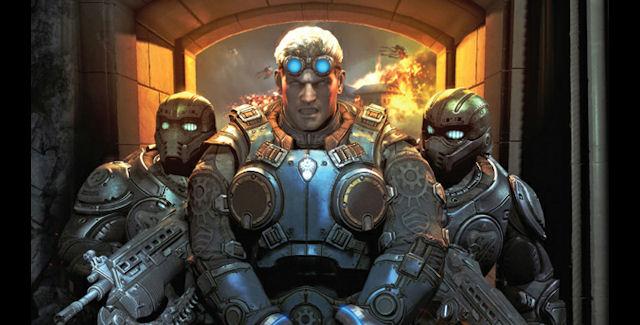 Gears of War Judgment Baird Artwork