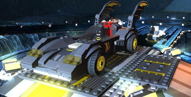 Lego Batman 2 Vehicle Batmobile