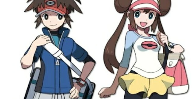 Pokemon Black and White 2 trainers