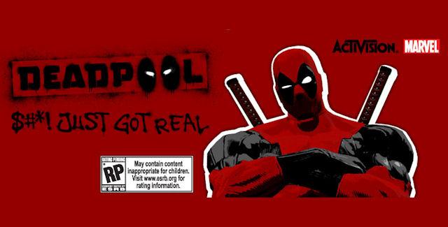 Deadpool Video Game logo