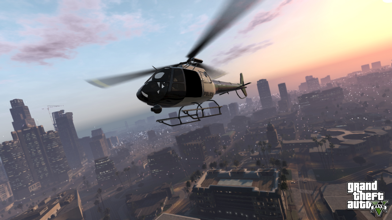 Grand Theft Auto 5 In-Game Screenshot