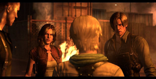 Resident Evil 6 team screenshot