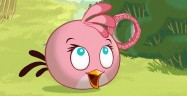 Angry Birds Seasons Pink Bird