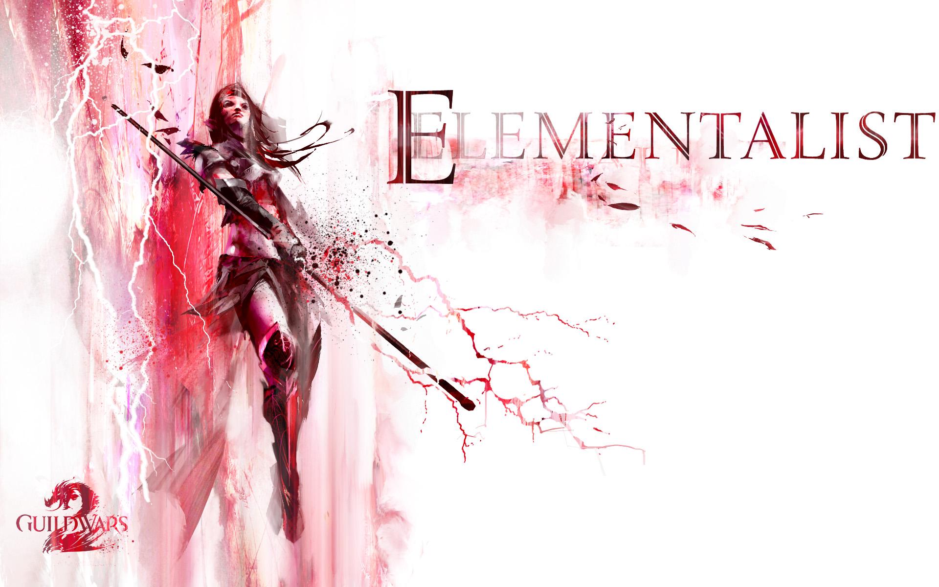 Guild Wars 2 Elementalist Wallpaper