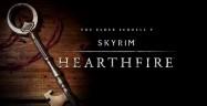 Skyrim: Hearthfire DLC logo