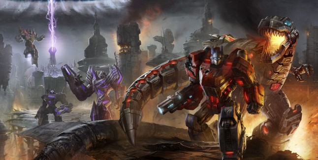 Transformers Fall of Cybertron Wallpaper