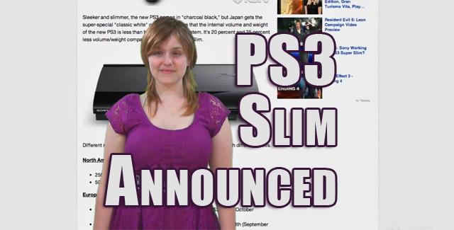 PS3 Slim Announced