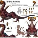 Lightning Returns: Final Fantasy XIII Red Dragon Monster Artwork
