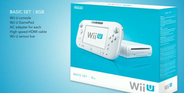 Nintendo Wii U Basic Set