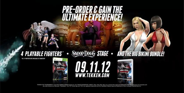 Tekken Tag Tournament 2 DLC