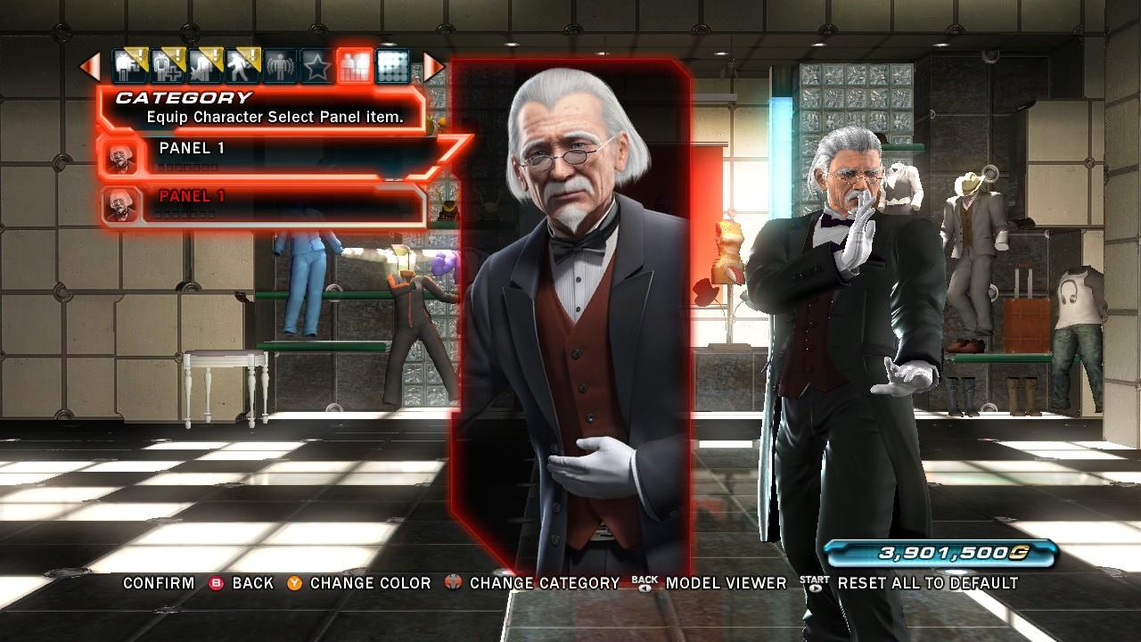 Tekken Tag Tournament 2 Sebastian Character