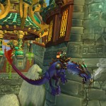 World of Warcraft: Mists of Pandaria Azure Cloud Serpent Mount