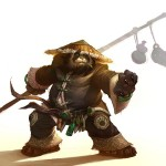 World of Warcraft: Mists of Pandaria Panda Wallpaper