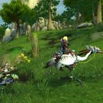 World of Warcraft: Mists of Pandaria Riding Crane Mount