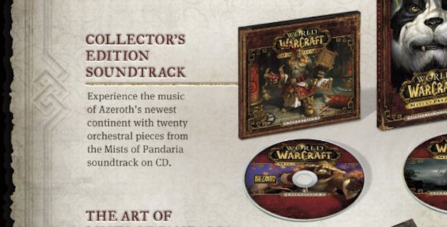 World of Warcraft: Mists of Pandaria Soundtrack