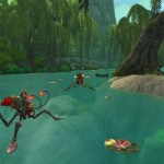 World of Warcraft: Mists of Pandaria Water Striders Mount