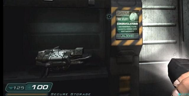 Doom 3 BFG Edition Storage Locker Codes